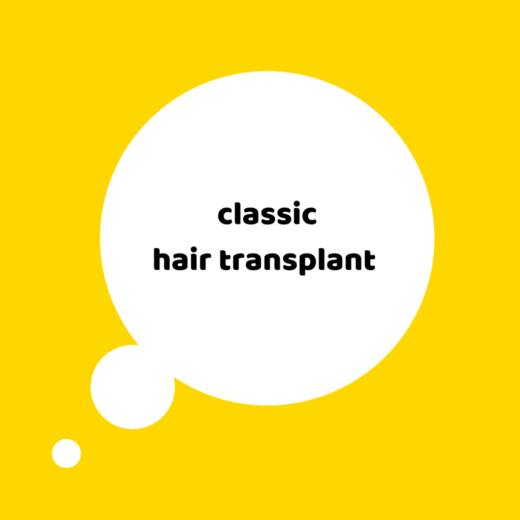 classic hair transplant in istanbul
